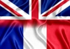 Professional translations. After studied and lived both in France and Australia I can help you with your translations of articles, websites or whatever. 