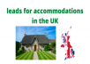 Do you need leads for accommodations in the UK? Look no further!  Here is a directory of 4800 self catering accommodations and holiday cottages in England, Scotland, Wales, Northern Ireland and Ireland (scraped from https://www.theholidaycottages.co.uk and each of its over 4800 linked websites.)  This contains each listing's company name, contact, telephone number, company website, and email updated as of 2020.  Directory will be sent within a da