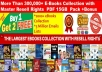 send 300,000+ eBooks,PLR Articles Collection with Master Resell Right PDF with Bonus 2000+E books & 3 Million Emails (15 GB+ Package)