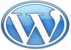 install Wordpress Blog, Theme & SEO Plugin