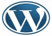 create a Wordpress website with all features