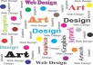 design graphics related works like logos, posters, flyers, and