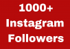 Add 1000 Instagram Follower PROMOTION, REAL ORGANIC WITH NON DROP GUARANTEED