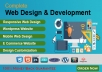 develop a responsive website for business or personal use
