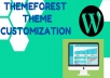 do WordPress theme customization