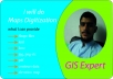 Hi there ! I am ABDUL MANIGH. and have a nice knowledge and experience of ArcGis  I will degitize any type of map and can provide resutant map in jpg png pdf shapfiles even kml and kmz if needed