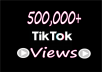 Provide best quality 500k Tiktok Videos Views