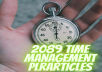 sell 2089 plr article time management