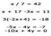 solve your five algebraic problems and make a Video demonstration of your required answer