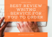 write reviews for your products,amazon articles, customer guides wiht rich SEO words