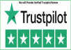 Give 2 Professional and five star Verified trsutpilot review on your service