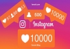 i will get you 10,000 instagram video views every week non drop and instant start will increase popularity on your ig