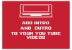 make You Tube intro that is catchy and of good quality and will design a nice looking photo album.