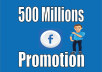 Promote Your Any Link Facebook 500 millions group members