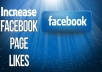 Give you 700 Facebook page likes Lifetime Guarantee for $5