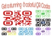 do qr code generating in very perfect with colorful