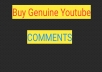 Do 35 genuine comments on YouTube video with different accounts
