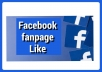 give you 500 Facebook page like