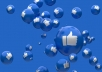 Give you 800 Facebook page like