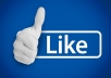 Give you  700 Facebook  page like from all over the world within 4 days maximum