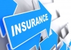 generate life insurance and health insurance lead