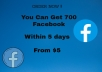 NOW, you  get 600 Facebook fan page like from all over the world within 3 days maximum, Real and safe 100%  And also Instagram and other social media page like and followers  100% trust fast delivery
