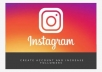 I will create your Instagram account for personal or for business purpose professionally. I also can increase your followers within short time.