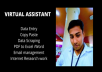 be your Virtual Assistant and Data Entry Operator