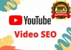 DO certified YouTube video SEO