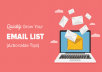 Deliver over 5 million verified USA and Canada Email List