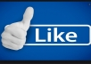 provide you 750 facebook page and post like