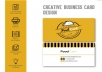 Design Professional and Premium Business Card With Two Concept