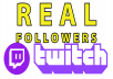 Give you +250 REAL Twitch in 10 days [✓refill guaranteed]