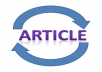 do article spinning for 3 of your articles