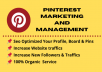 set up your pinterest profile with SEO optimized boards with pins