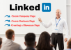 create and manage professionally your linkedin business page