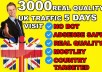 Drive United Kingdom Real organic Visitors To Your Website
