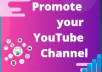 promote your youtube video promote link