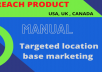 do USA, UK, CANADA in reach product of audience