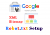 create optimize XML sitemap and robots txt for your wordpress website