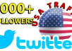 I will give you real , fast and high quality Twitter services within the time frame.  Offers:-  1000+ twitter followers from USA by 14day [✓refill guaranteed]   ∆∆∆∆∆∆[✓✓✓USA Traffic✓✓✓]∆∆∆∆∆∆  FEATURES:- (✔) 100% Safe (✔) super Start (✔)Fast and Cheap Service (✔)Split are available (✔) Improve visibility