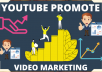 If you need youtube promotion social media marketing is the way of youtube get viewers and subscribers. Video marketing come to organic traffic from social media. We can do video marketing and any type business promotional work. If you need promotion fo your any content and also channel. Then you can this service purchase now.