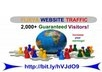 send 2,000 Real Human Visitors to View/Read your Blog or published Articles