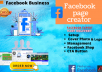 do facebook business page creation, setup, cover photo, social media marketing