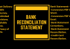 do bank reconciliation of your statement
