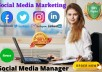 be your social media manager and content creator
