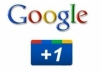 add Google + 200 quality to your website or webpage in 4-5 days