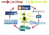 build 10 Web 2 pages Manually and create a great Link Wheel then ping for faster indexing + bonus