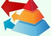 create Link Pyramid with article, 10 web2 tier1, 35 social bookmarking tier2