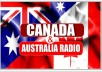 promote your music to 3000 australia radio and 3000 canada radio stations